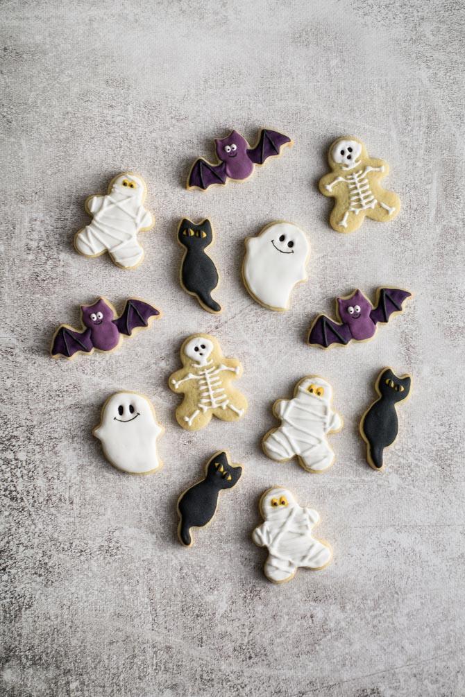 Småkager til Halloween