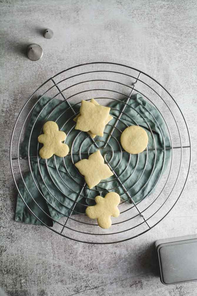 Vanilje småkager til udstikkere