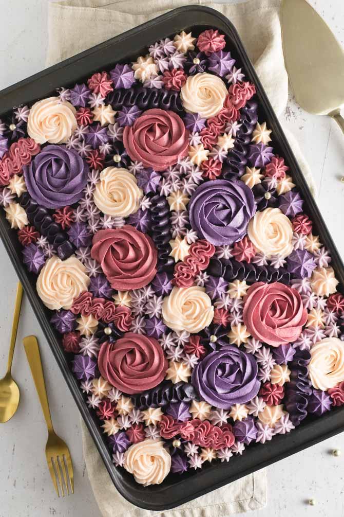 Festlig chokoladekage med smørcreme