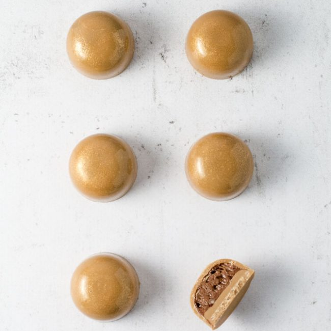 Callebaut Gold knasende ganache chokolade