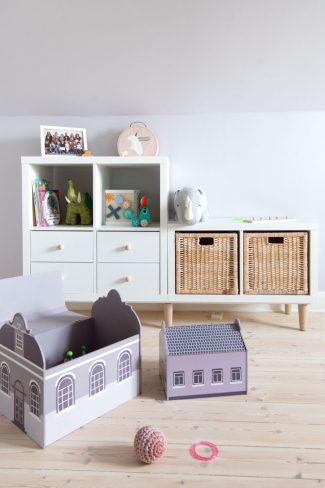 IKEA hack bogreol til børn