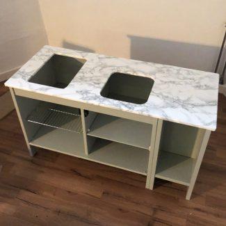 IKEA legekøkken bordplade