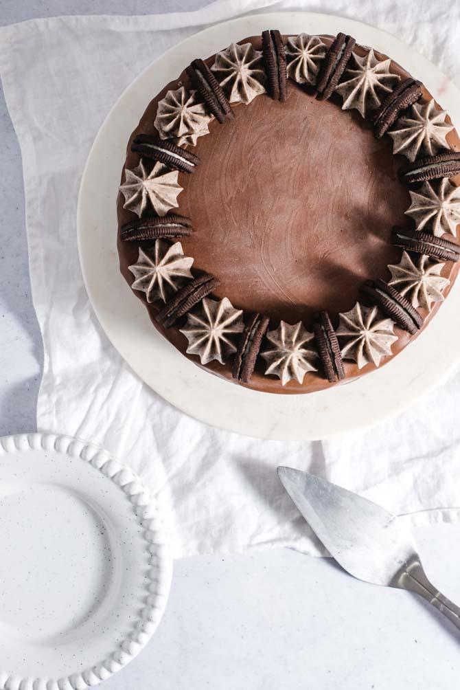 Chokolade islagkage