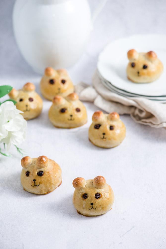 Bamseboller til børn