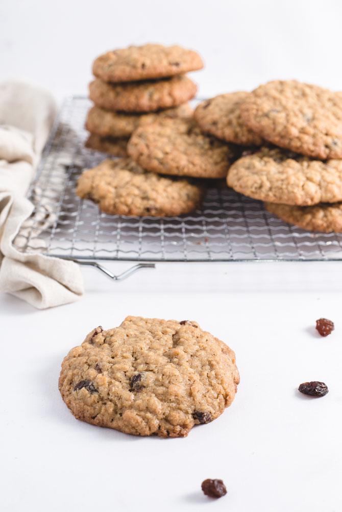 Havregryn cookies opskrift