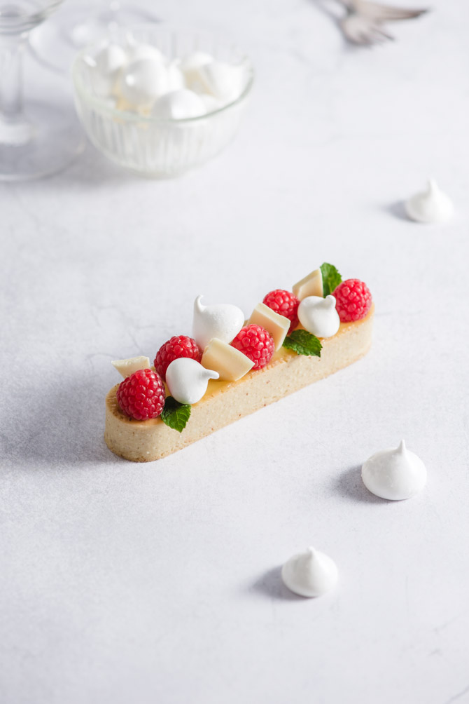 Hindbær dessert